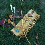 a simple osage stick bow