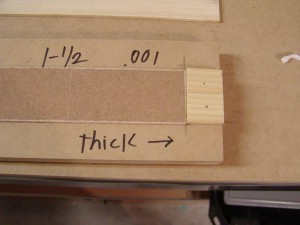 P1010049 300x225 How to make a simple thickness sander for bow laminations