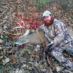 Brents buck 150x150 Brent scores big with his Classic Take down Recurve