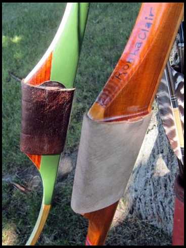 Straight/Hill style longbow grips