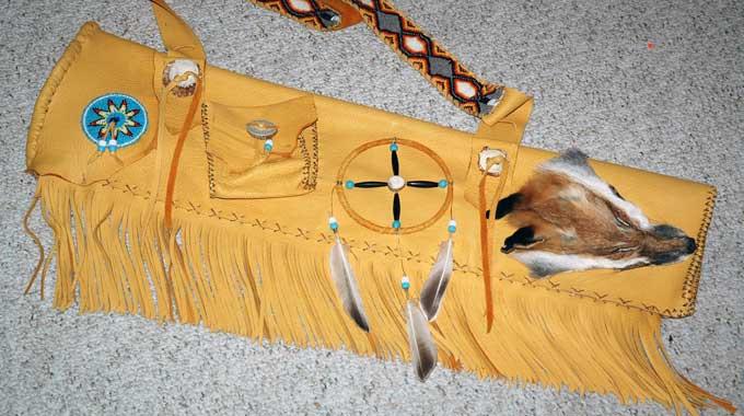 Plains indian quiver